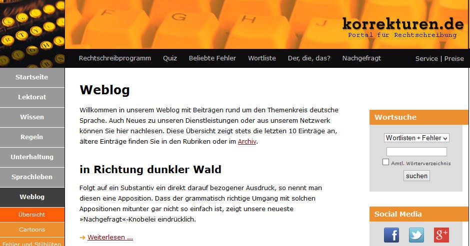 www.korrekturen.de