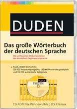 Duden – Das große Wörterbuch der deutschen Sprache